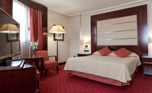 Habitación doble  del hotel Sevilla Center