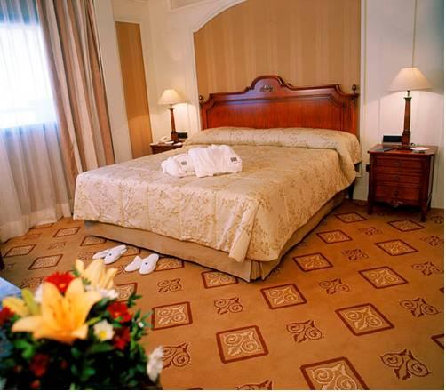 Junior Suite Deluxe del hotel Sevilla Center