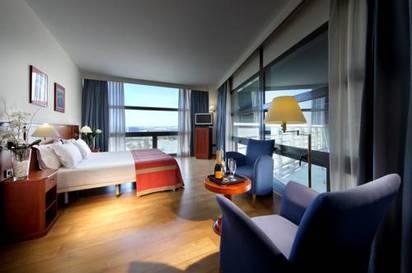 Habitación doble  del hotel Exe Isla Cartuja