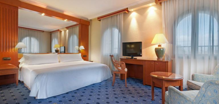 Junior suite  del hotel Exe Sevilla Macarena