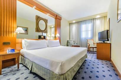 Habitación doble Vista ciudad del hotel Sevilla Macarena