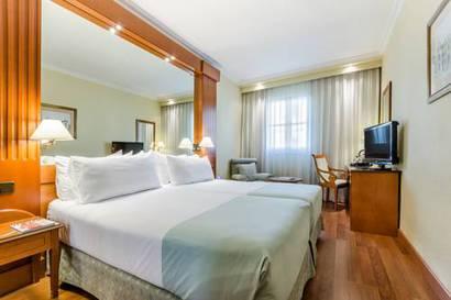 Habitación doble Superior del hotel Sevilla Macarena