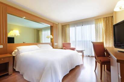 Habitación doble Premium del hotel Sevilla Macarena