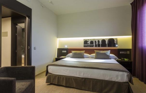 Suite  del hotel Ayre Sevilla