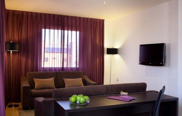 Suite  del hotel Ayre Sevilla. Foto 1