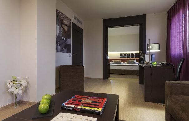 Suite  del hotel Ayre Sevilla. Foto 2