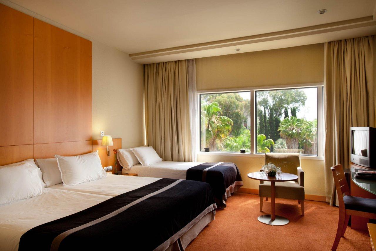 Confort Triple del hotel Silken Al-Andalus Palace