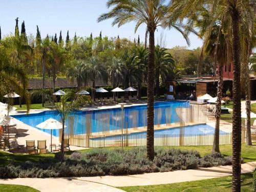 Habitación doble Vista Piscina del hotel Silken Al-Andalus Palace