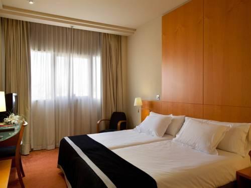 Doble Confort 2 camas individuales del hotel Silken Al-Andalus Palace. Foto 1