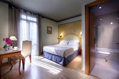 Habitación doble  del hotel Eurostars Regina