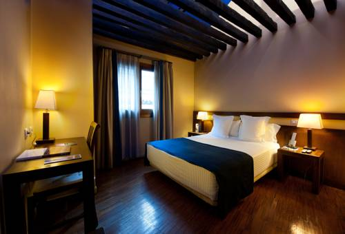 Habitación individual  del hotel Abad Toledo