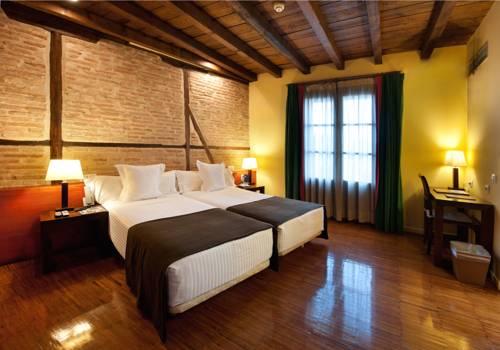 Habitación doble dos camas separadas del hotel Abad Toledo