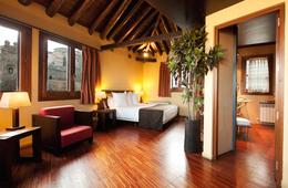 Suite  del hotel Abad Toledo