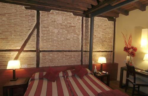 Habitación doble dos camas separadas del hotel Abad Toledo. Foto 3