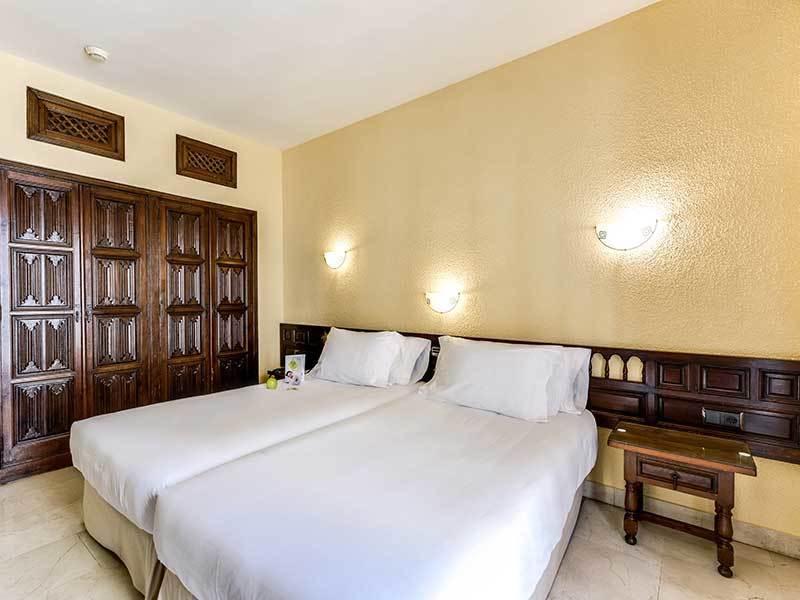 Habitación doble  del hotel Sercotel Alfonso VI