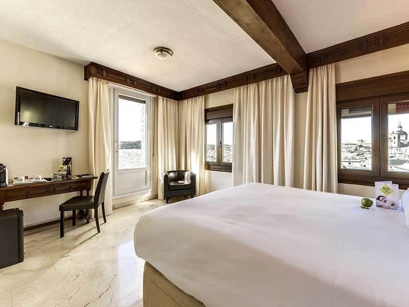 Habitación doble Vista Panorámica del hotel Sercotel Alfonso VI