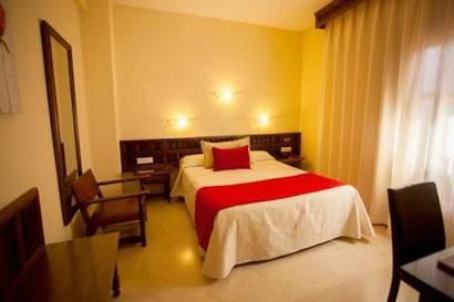 Habitación individual  del hotel Alfonso VI