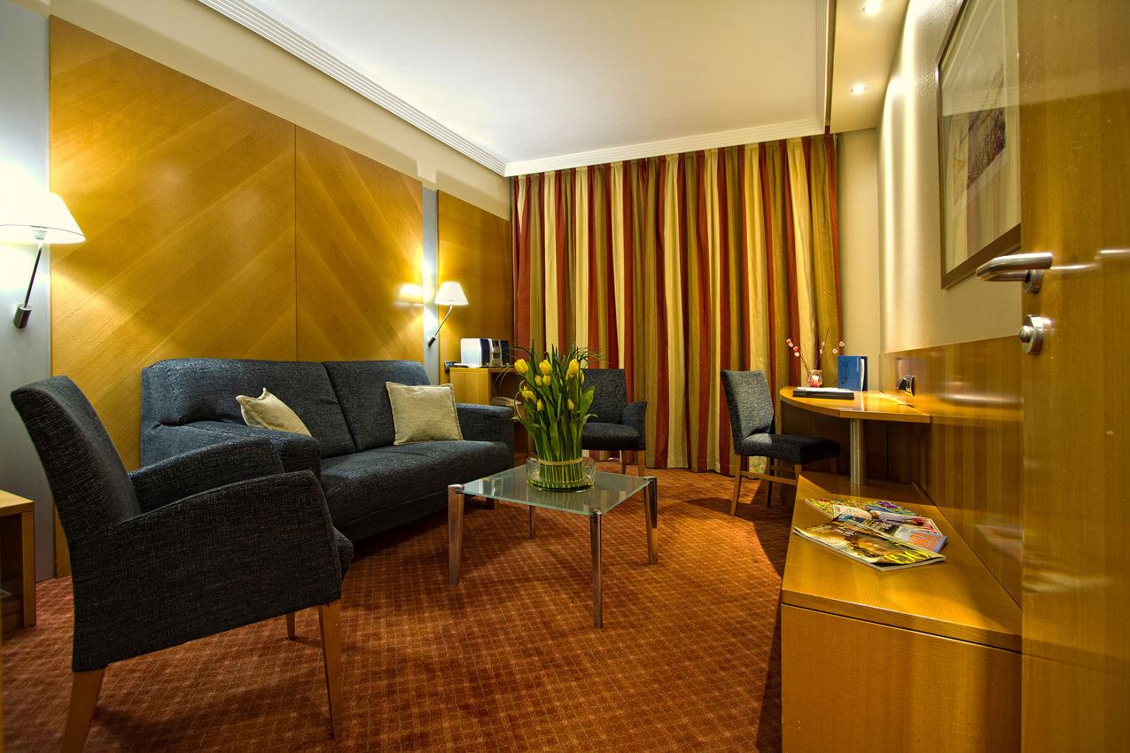 Junior suite  del hotel Silken Juan de Austria
