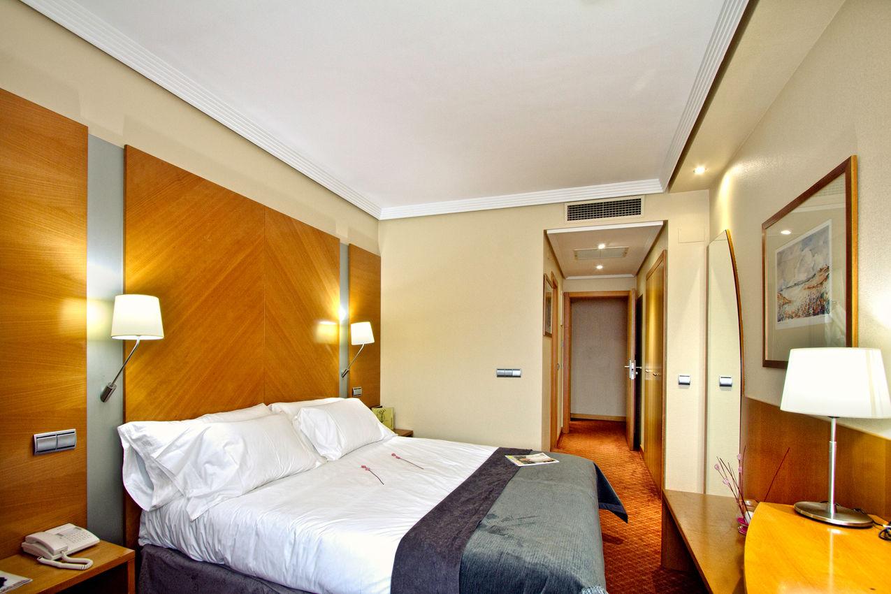 Habitación Silken Club del hotel Silken Juan de Austria