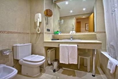 Habitación doble Confort del hotel Silken Juan de Austria