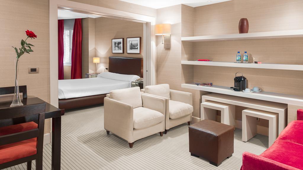 Junior suite  del hotel Ercilla