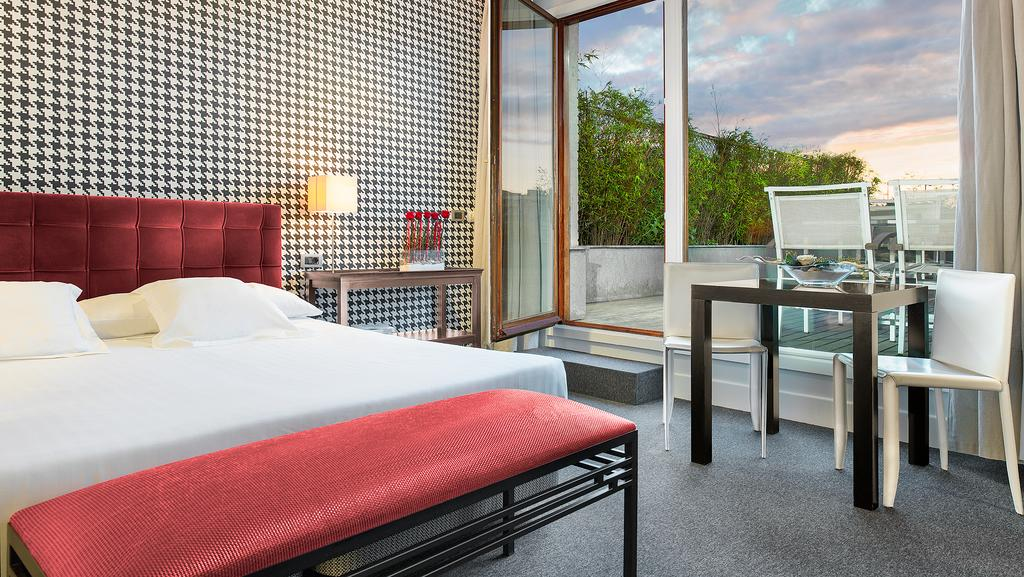 Penthouse Suite del hotel Ercilla