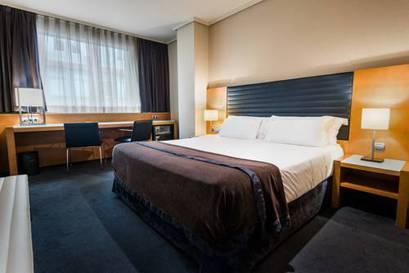 Habitación doble Confort del hotel Silken Indautxu