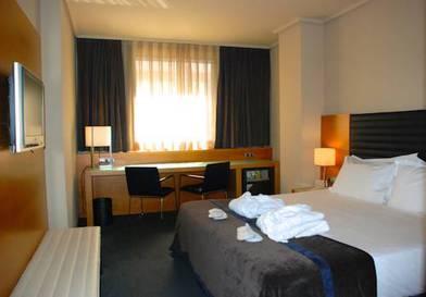 Habitación doble Club del hotel Silken Indautxu