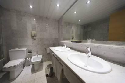 Habitación doble Confort del hotel Silken Indautxu. Foto 1