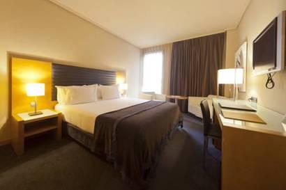 Habitación doble Confort del hotel Silken Indautxu. Foto 2