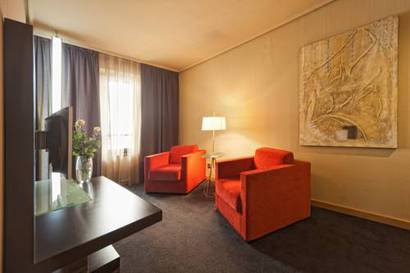Junior suite  del hotel Silken Indautxu. Foto 2