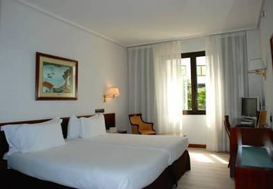 Habitación doble  del hotel Silken Indautxu