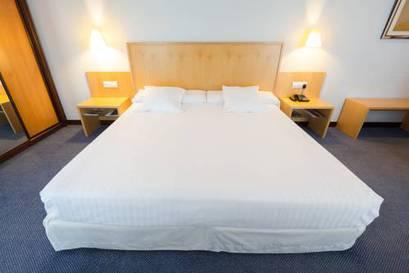 Habitación doble  del hotel Mercure Bilbao Jardines de Albia