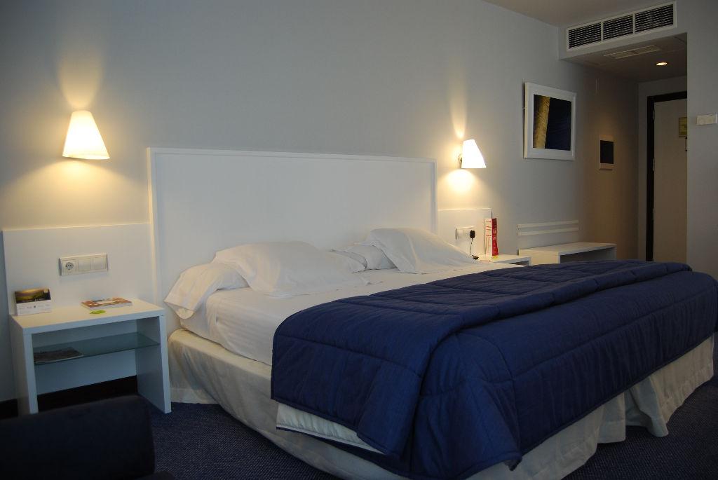 Habitación doble Privilege del hotel Mercure Bilbao Jardines de Albia
