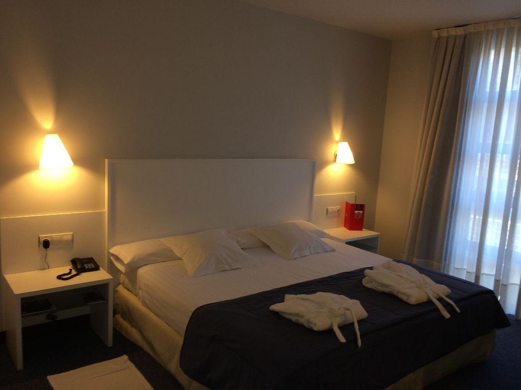 Junior suite  del hotel Mercure Bilbao Jardines de Albia
