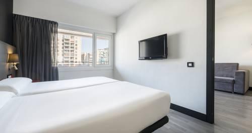 Doble Superior Premium del hotel Ilunion Romareda. Foto 2