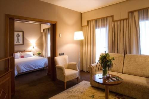 Suite  del hotel Palafox