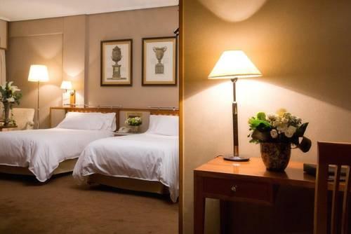 Habitación doble dos camas separadas del hotel Palafox