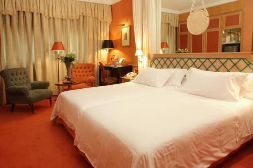Habitación doble Superior dos camas separadas del hotel Palafox