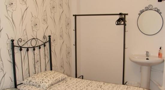 Habitación individual Baño compartido del hotel Pensión Carlos V