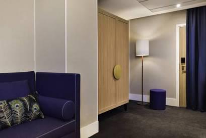 Junior suite  del hotel L'echiquier Opéra Paris Mgallery Collection