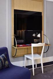 Habitación doble Lujo del hotel L'echiquier Opéra Paris Mgallery Collection. Foto 2