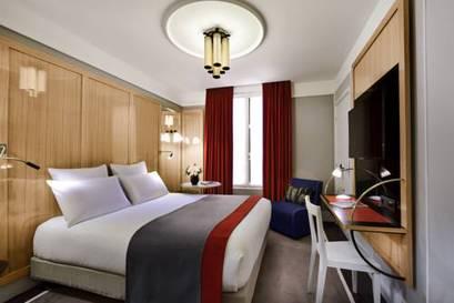 Habitación doble Contigua del hotel L'echiquier Opéra Paris Mgallery Collection