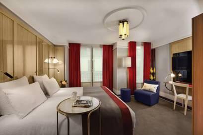 Habitación doble Superior del hotel L'echiquier Opéra Paris Mgallery Collection