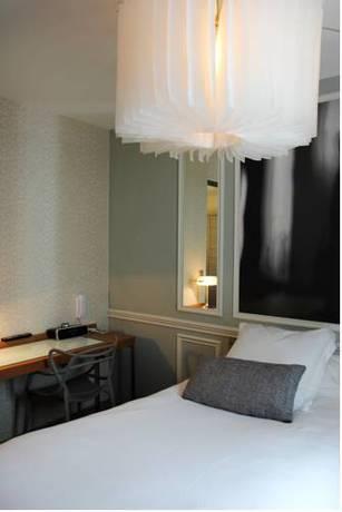 Habitación individual  del hotel Best Western Premier Le Swann