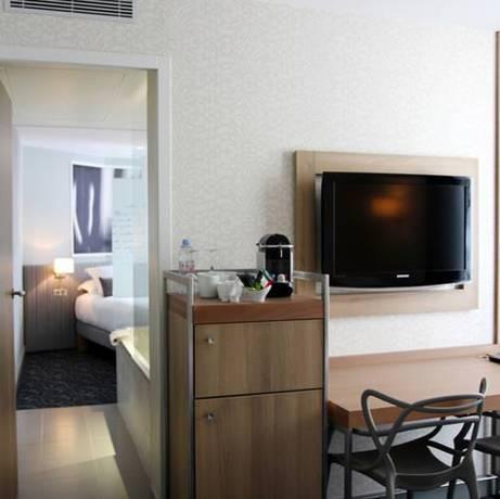 Junior suite  del hotel Best Western Premier Le Swann. Foto 2