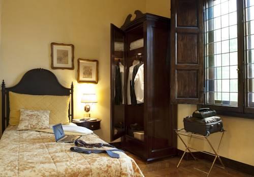 Habitación individual  del hotel Grand Baglioni