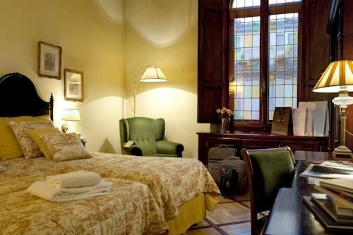 Habitación triple  del hotel Grand Baglioni