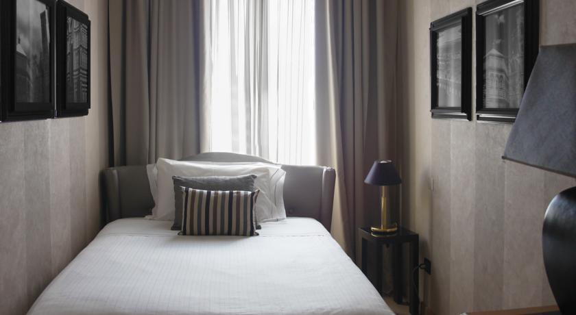 Habitación individual  del hotel Ambasciatori