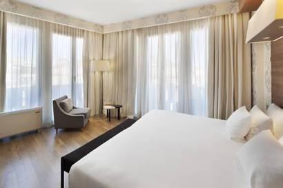 Junior suite  del hotel NH Collection Milano President